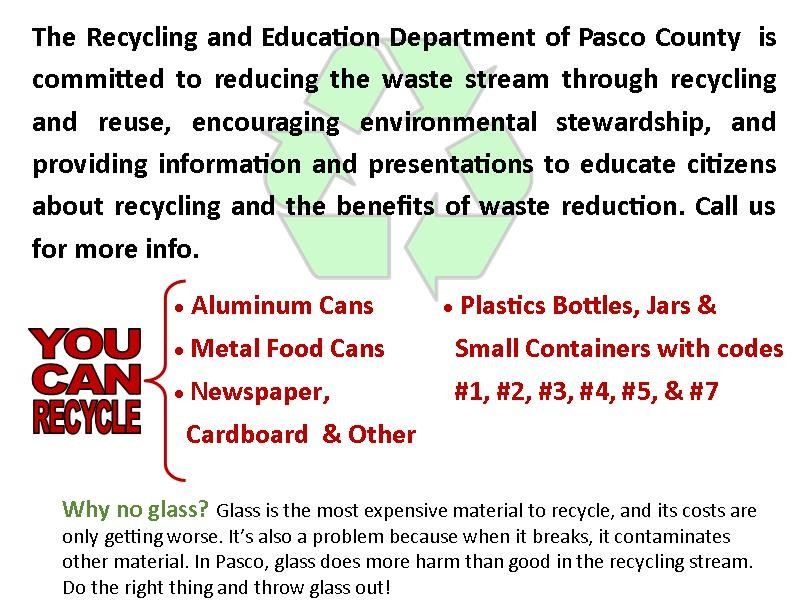 Recycling Update