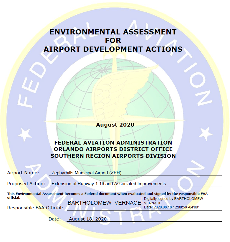 Airport Development Actions