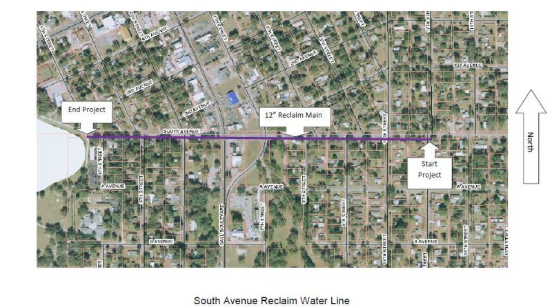 South Avenue Reclaim Water Line